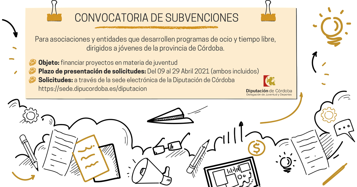 Boletín Centro de Información Juvenil de la Diputación de Córdoba 9-IV-21