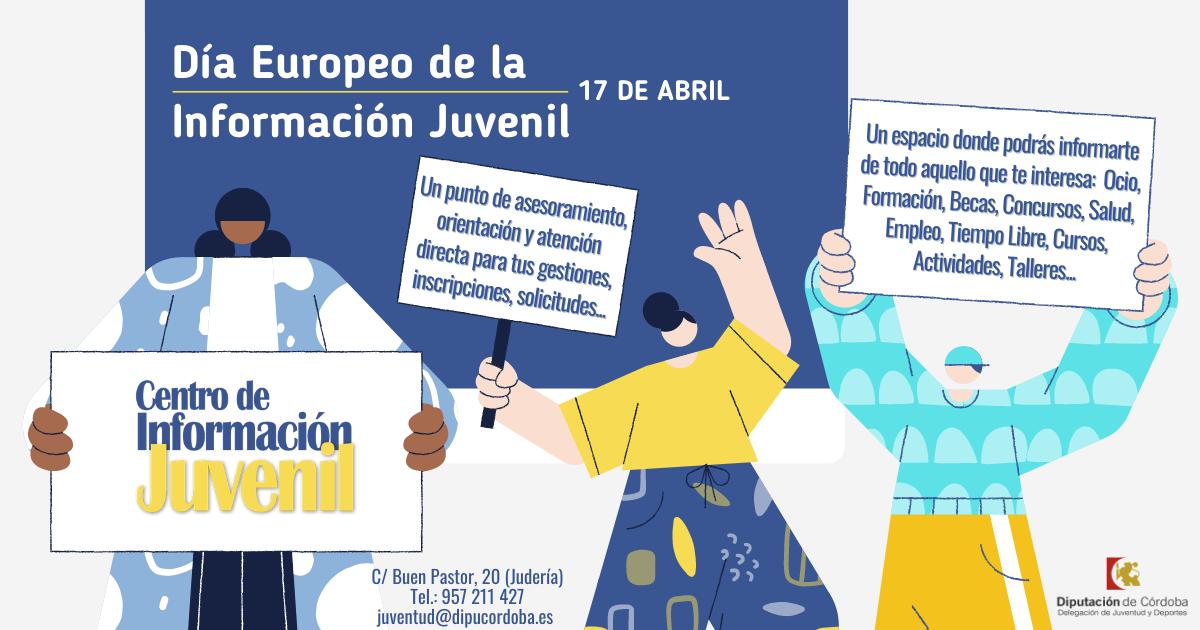 Boletín Centro de Información Juvenil de la Diputación de Córdoba 17-IV-21