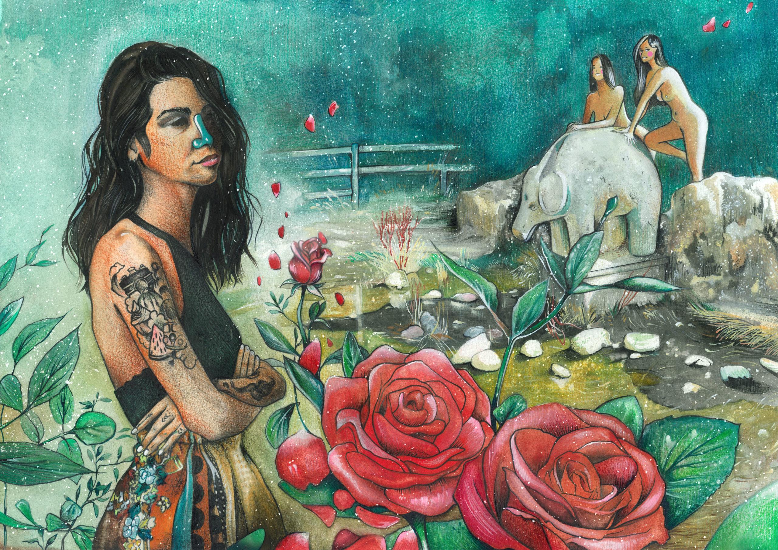 Almudena Castillejo. Catálogo Jóvenes Artistas