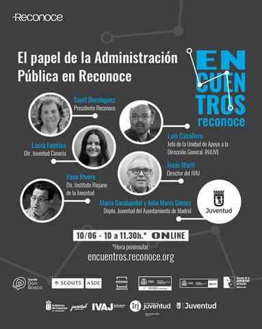 Encuentro «El papel de la Administración Pública en Reconoce»
