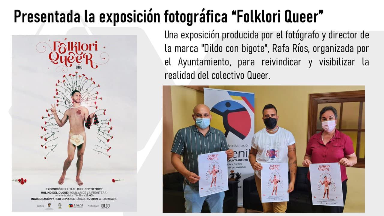 """Aguilar de la Frontera. Exposición fotográfica """"Folklori Queer"""" 11-18 septiembre."""